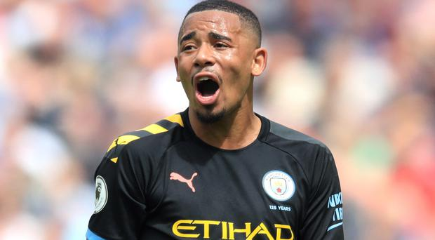 Gabriel Jesus has experieced ups and downs during his time at Manchester City (Adam Davy/PA)