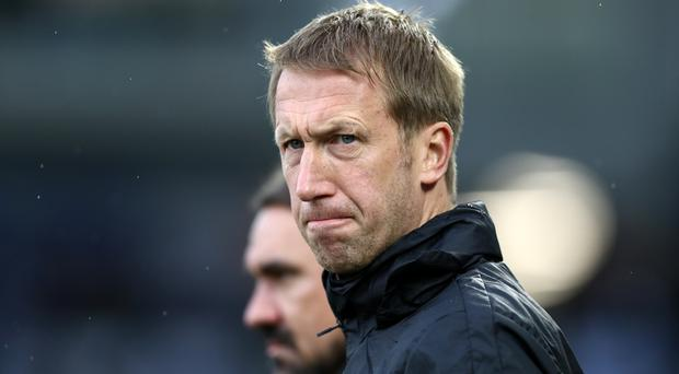 Graham Potter admitted changes at Arsenal have created uncertainty for Brighton (Gareth Fuller/PA)