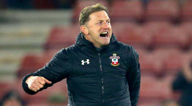 Ralph Hasenhuttl was grateful for being given time at Southampton (Steven Paston/PA)