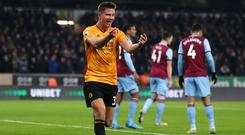 Leander Dendoncker opened the scoring in Wolves' 2-0 win over West Ham (David Davies/PA)