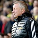 Chris Wilder is not a fan of VAR (Joe Giddens/PA)