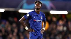 Tammy Abraham says Chelsea will fear no-one in the Champions League knockout stages (John Walton/PA).