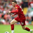 Andy Robertson believes Liverpool's reputation in the Champions League goes before them (Nigel French/PA)
