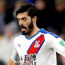 Crystal Palace defender James Tomkins is targeting a top-10 finish (Martin Rickett/PA)