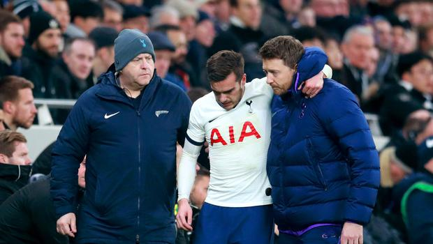 Harry Winks' injury is not as bad as first feared (Adam Davy/PA)