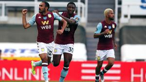 Aston Villa's Ahmed Elmohamady equalised in Wednesday's 1-1 at Newcastle. (Lee Smith/NMC Pool/PA)