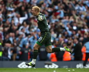 Hart helped City win their maiden Premier League title in 2012 (Dave Thompson/PA).