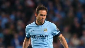 Manchester City are hoping to retain the services of Frank Lampard
