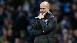 Pep Guardiola is hoping to steer Manchester City to Champions League success (Martin Rickett/PA)