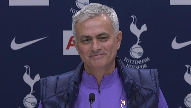 Jose Mourinho, pictured, has taken the helm at Tottenham (PA Video)