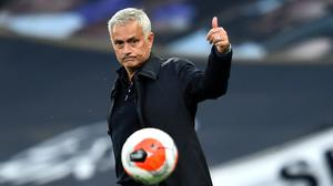 Jose Mourinho almost saw his side to victory (Glyn Kirk/NMC Pool)