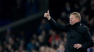 Everton manager Ronald Koeman liked what he saw as his side fought back against Arsenal.