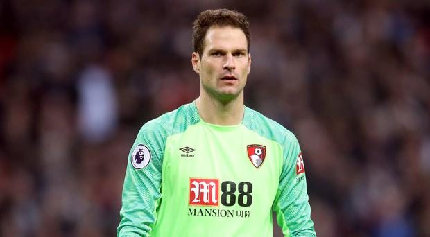 Asmir Begovic has joined AC Milan from Bournemouth (Adam Davy/PA)