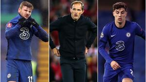 Thomas Tuchel will need to get summer signings Timo Werner and Kai Havertz firing for Chelsea (PA)