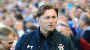 Ralph Hasenhuttl, pictured, apologised to Chris Hughton (Gareth Fuller/PA)