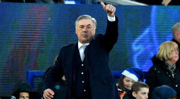 New Everton manager Carlo Ancelotti insists he will not think about transfer targets until after next week's Merseyside derby (Anthony Devlin/PA)