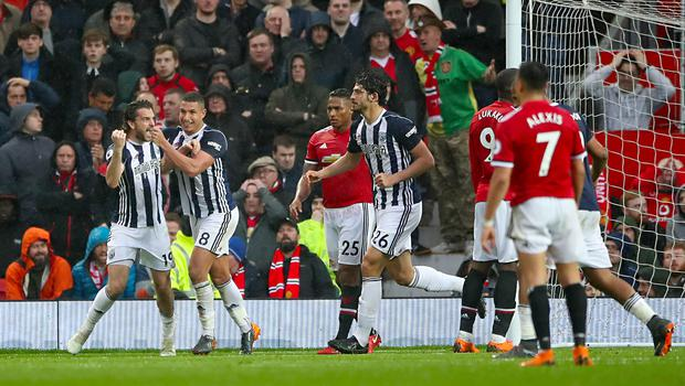 West Brom shocked Manchester United