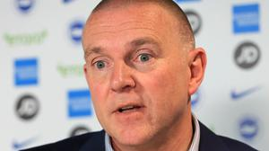 Brighton CEO Paul Barber is continuing to plan for the summer transfer window (Gareth Fuller/PA)