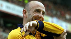 Gary McAllister scored the only goal of two legs between Liverpool and Barcelona (Tom Hevezi/PA)