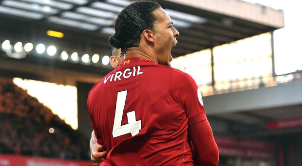 Virgil Van Dijk is not losing any sleep over the lack of Liverpool clean sheets (Anthony Devlin/PA)