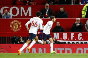 Adam Lallana's late equaliser at Manchester United safeguarded Liverpool's unbeaten start to the season (Martin Rickett/PA)