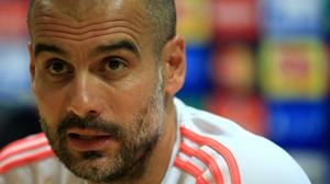 Bayern Munich coach Pep Guardiola has been linked with a move to Manchester City in Spanish reports