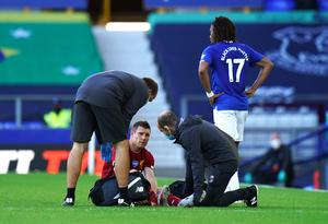 James Milner will miss the clash with Crystal Palace through injury (Jon Super/NMC Pool/PA).