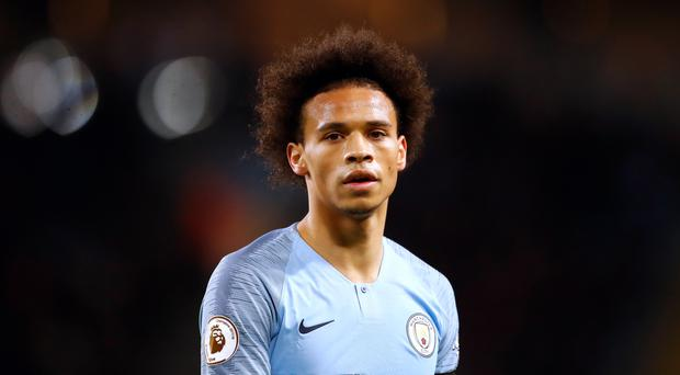 Leroy Sane is again being linked with a move away from Manchester City (Martin Rickett/PA)