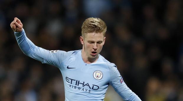 Oleksandr Zinchenko has no interest in personal praise as he chases the Premier League title (Martin Rickett/PA)