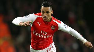 Alexis Sanchez, pictured, is made for English football, according to Arsenal boss Arsene Wenger
