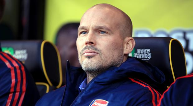 Interim manager Freddie Ljungberg has called on Arsenal to make swift appointment (Adam Davy/PA)
