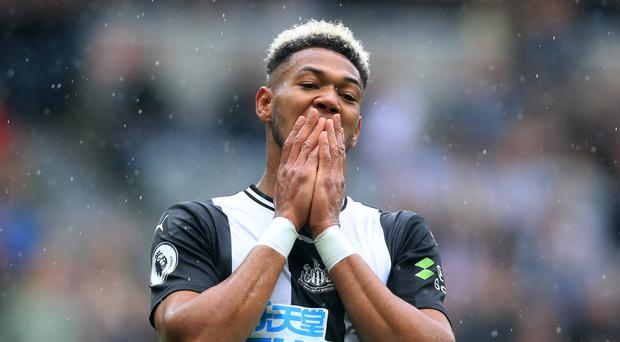 Newcastle's Joelinton has managed just one goal since his £40million arrival from Hoffenheim (Owen Humphreys/PA)