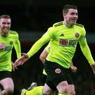 John Fleck netted a late equaliser for Sheffield United (Adam Davy/PA)