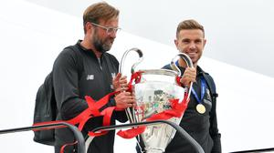 Liverpool captain Jordan Henderson believes manager Jurgen Klopp has been the key factor in winning the title (Dave Howarth/PA)