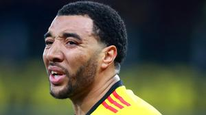 Troy Deeney captained Watford to a fine win over Premier League leaders Liverpool. (Adam Davy/PA)