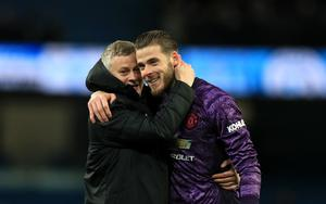 Solskjaer would love to see De Gea spend another decade at United (Mike Egerton/PA)