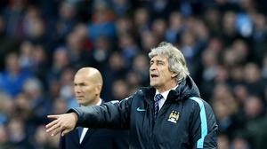Manchester City manager Manuel Pellegrini is frustrated by the timing of Sunday's Premier League fixture