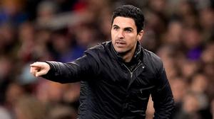Mikel Arteta knows what to expect from Manchester City (John Walton/PA)