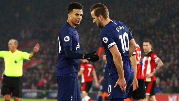 Spurs will have to make do without striker Harry Kane (Mark Kerton/PA)