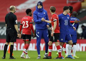 Thomas Tuchel's side were frustrated by Southampton (Kirsty Wigglesworth/PA)