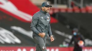 Ralph Hasenhuttl is determined to keep Southampton number one on the south coast (Frank Augstein/NMC Pool/PA)