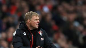 Eddie Howe wants to keep pushing Bournemouth forward