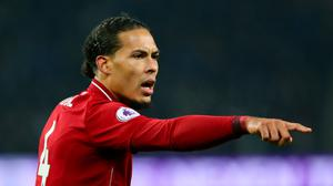 Virgil Van Dijk has impressed for Liverpool (Richard Sellers/PA)
