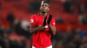 Paul Pogba has played only eight games for Manchester United this term (Martin Rickett/PA)