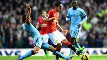 On target: Angel Di Maria in scoring form so should help Man United beat Crystal Palace