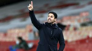Arsenal manager Mikel Arteta has seen his side struggle for consistency in the Premier League (Peter Cziborra/PA)