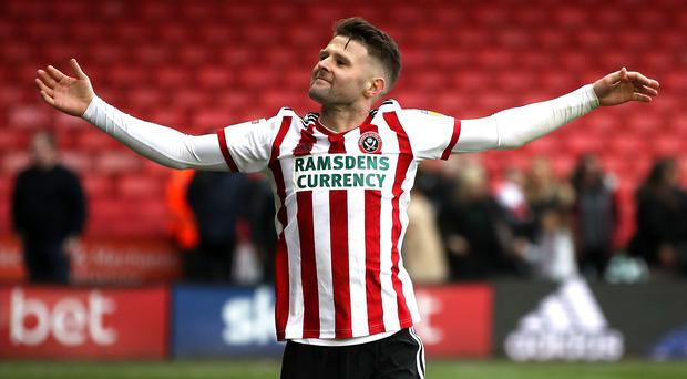 There will be no split loyalties for Sheffeld United midfielder Oliver Norwood when he lines up against his boyhood club Burnley (Nick Potts/PA)