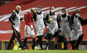 Brandon Williams left the field with a head injury on Monday (Peter Powell/NMC Pool)