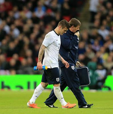 Jack Wilshere had appeared fine following the tackle