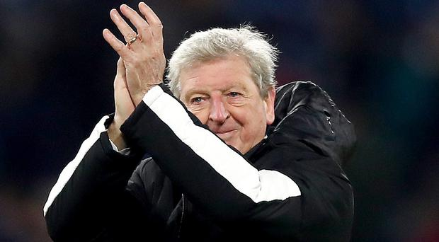 Roy Hodgson is proud Crystal Palace will open Selhurst Park for up to 10 rough sleepers when the temperature drops below freezing (Martin Rickett/PA)